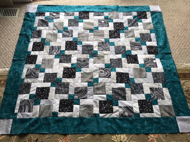 quilt top done, now for the fun part